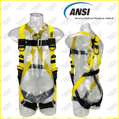 <b>TE5301 FULL BODY HARNESS ANSI APPROVED</b>