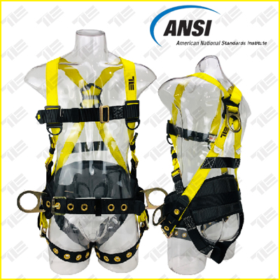 <b>TE5306 FULL BODY HARNESS ANSI APPROVED</b>